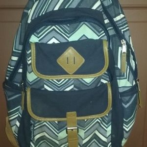 Tribal Triangle Dome Backpack